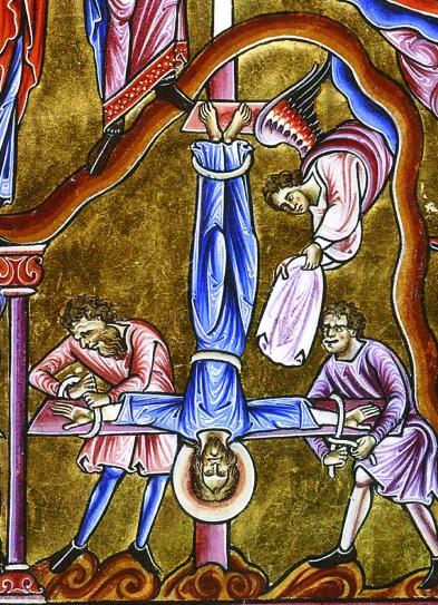 croix inversée
